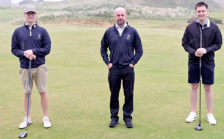 Senior and Junior Cup wins for Mourne Golf Club