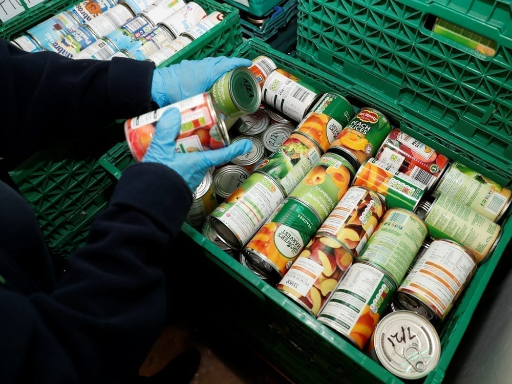 Bangor Food bank delivers 3,500 food hampers to the boroughs most vulnerable during pandemic