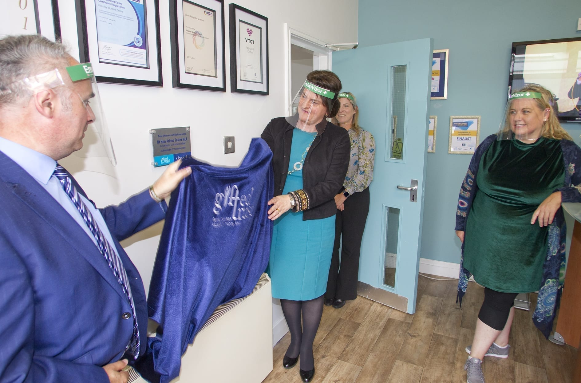 First Minister officially opens Kilcooley Women's Centre