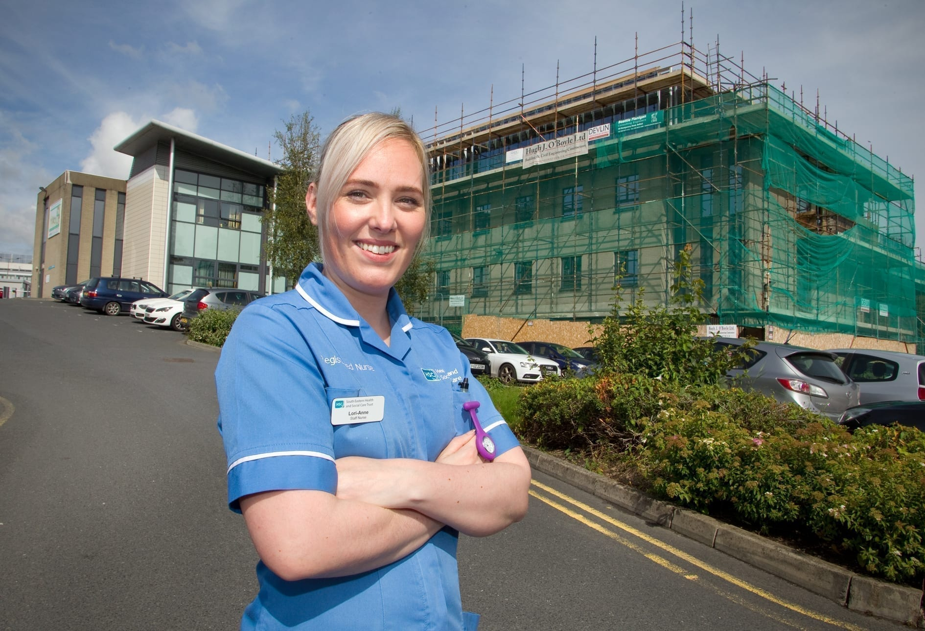 Work resumes on £3m cancer centre
