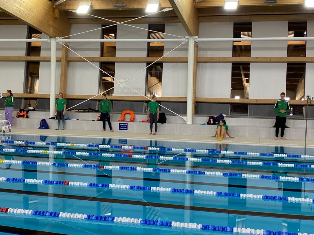 Making a splash, swimmers return to the pool