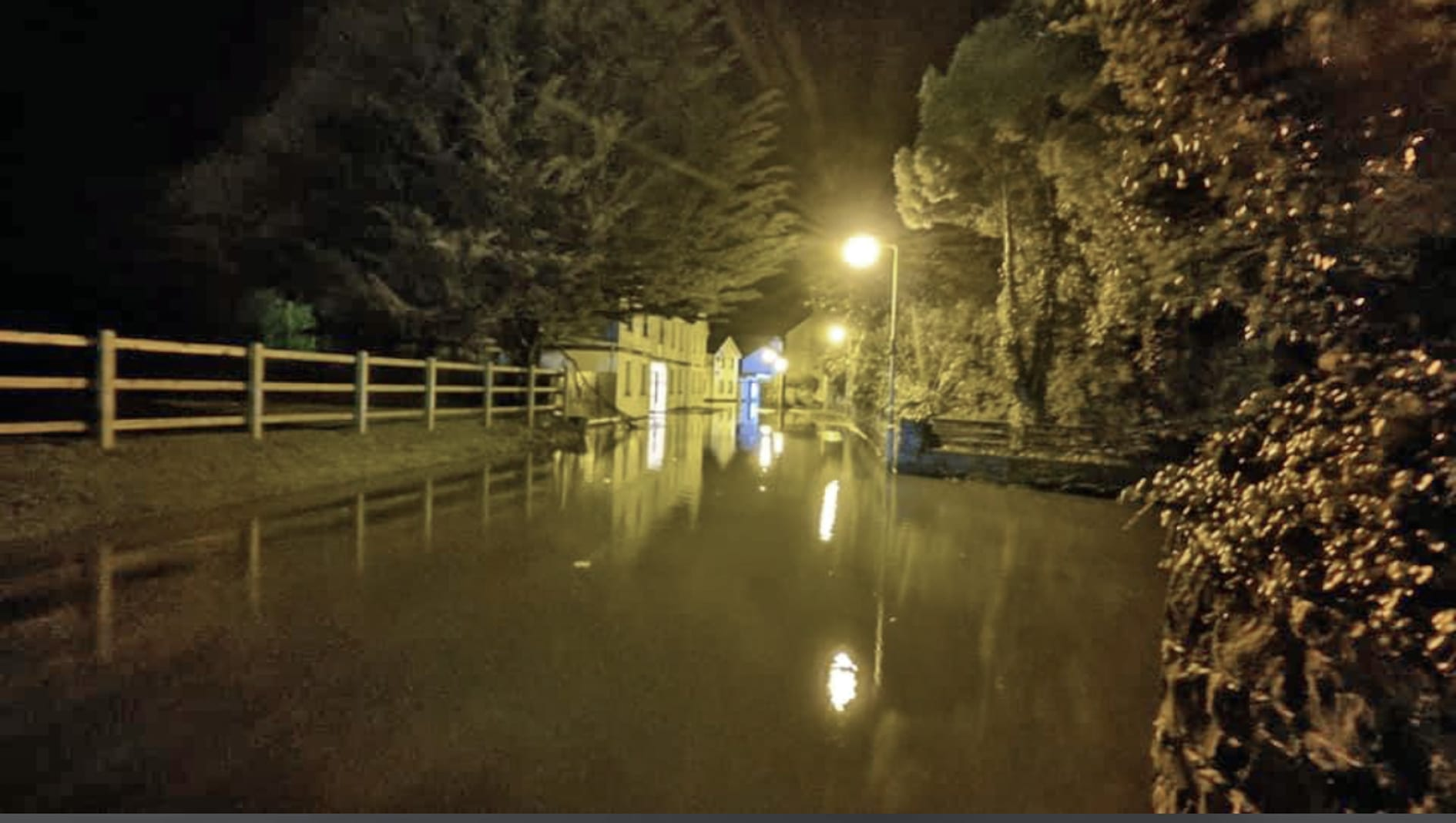 People trapped as torrential rain floods Donaghadee