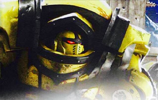 - Horus Heresy Betrayal at Calth D WH30K Cataphractii Terminator Powerfist