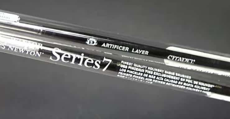 Winsor and /& Newton Series 7 Size 00 Kolinsky Sable Brush Round 40k Warhammer