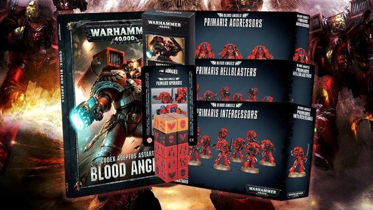 Blood Angels Upgrades *Big Pack* Torsos front 2x