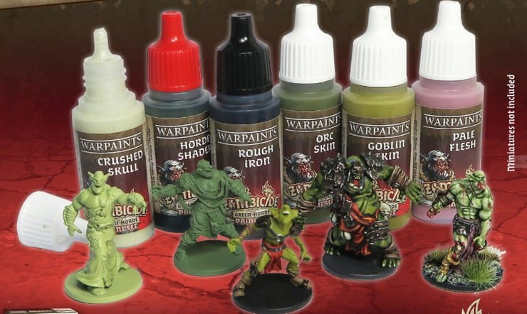 Zombicide Survivor Paint Set by Army Painter New!