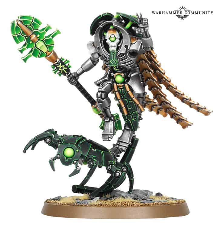 GW Naming Crypteks With New Necron 40k Rules - Spikey Bits