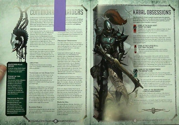 Warhammer 40 K Drukhari Codex Drukhari EN