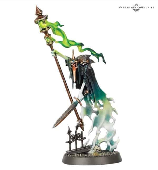 Warhammer Age of Sigmar Nighthaunt Spirit Torment miniature with warscroll