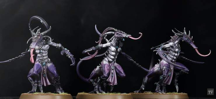 Daemonettes of Slaanesh x 10 40k NOS Warhammer AOS Deamons Wrath and Rapture