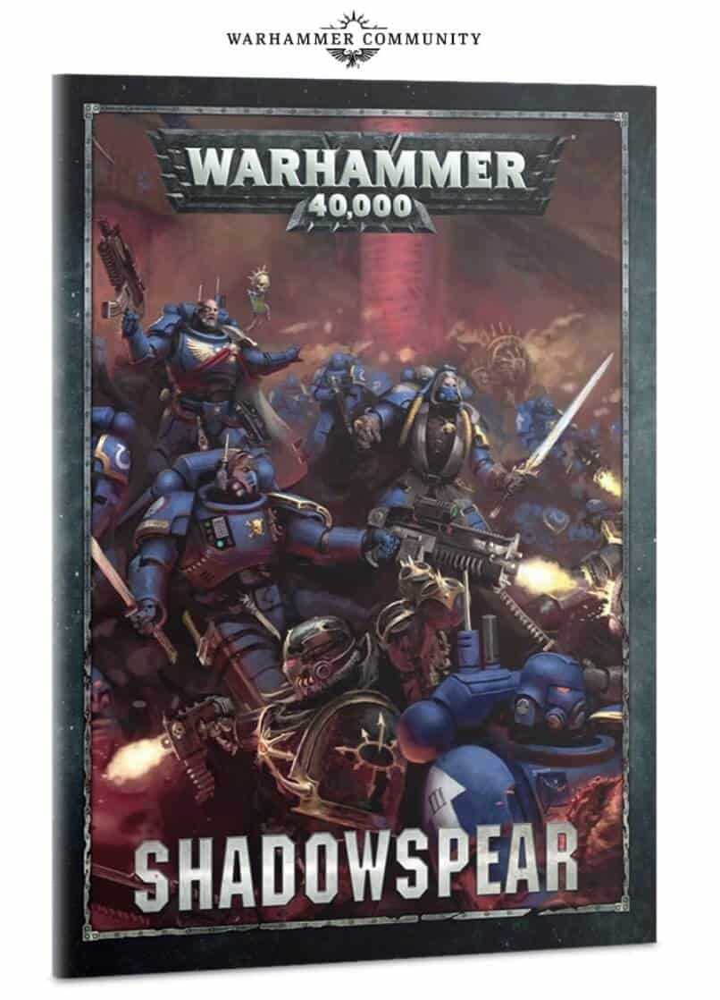 Warhammer 40k CHAOS SPACE MARINES 10 Daemonkin SHADOWSPEAR W// ASPIRING CHAMPION