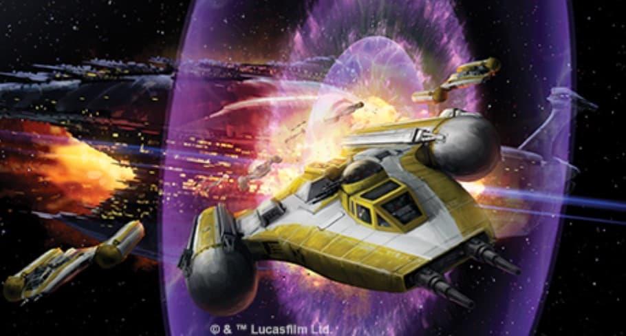 Star Wars X-wing Gold Squadron Pilot 2013 Promo