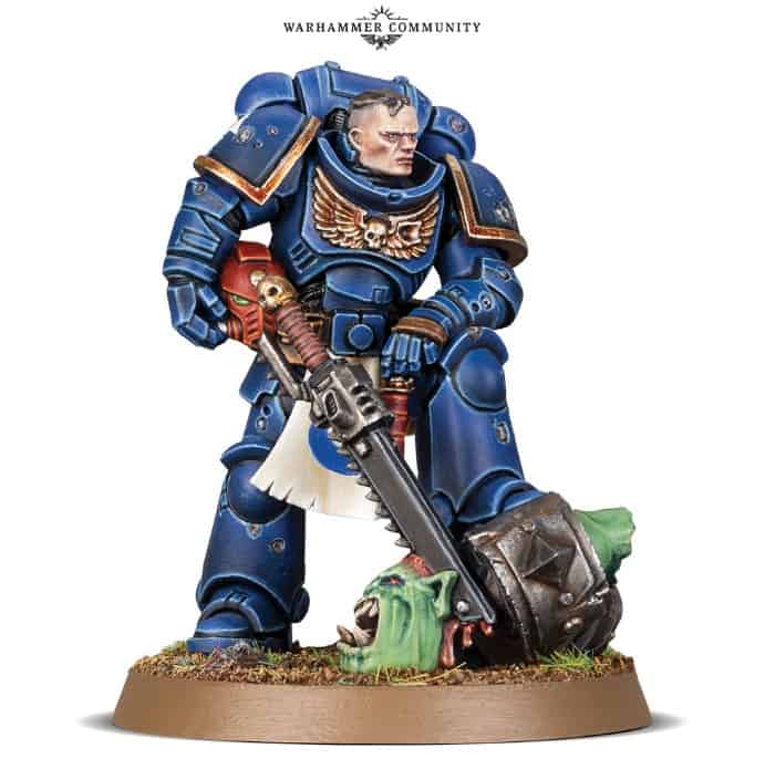 Imperial Space Marine 2016 Special Edition built and unpainted