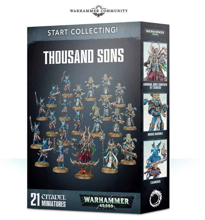 start collecting tsons