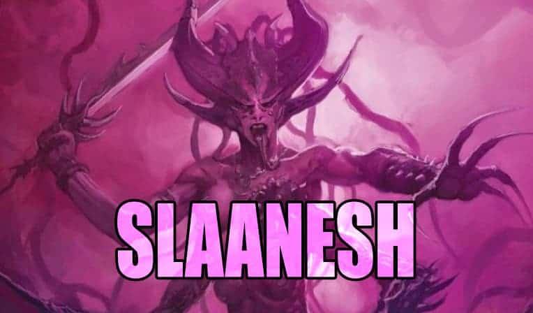Slaanesh Hedonites of
