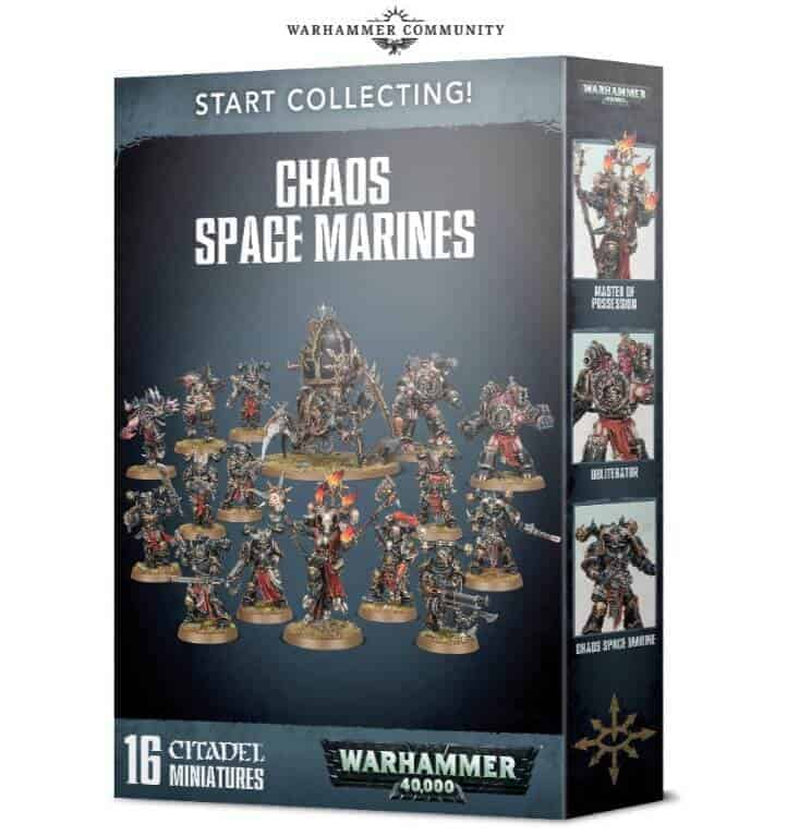 start collecting new chaos marines