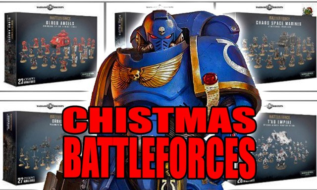 Warhammer Christmas Bundles 2020 GW Christmas Battleforces For 2020 Spotted!   Spikey Bits