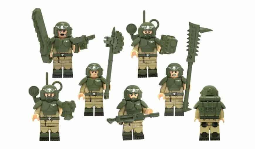 Eldar Guard Troops Small Parts Warhammer 40k Bitz