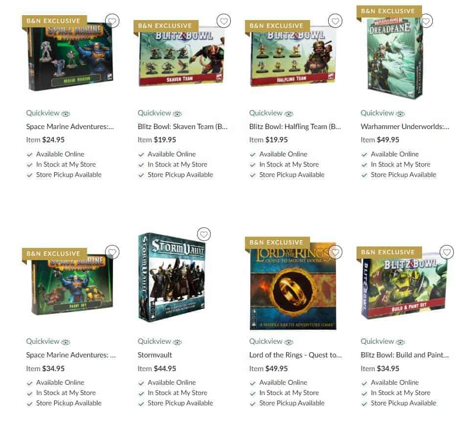 Barnes Amp Noble 15 Off Sale On Gw Exclusives Spikey Bits