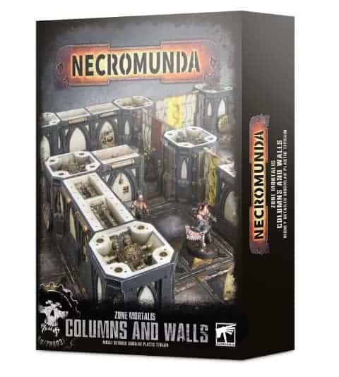 Necromunda 2017 Dark Uprising Columns Sprue x 1 Terrain Scenery