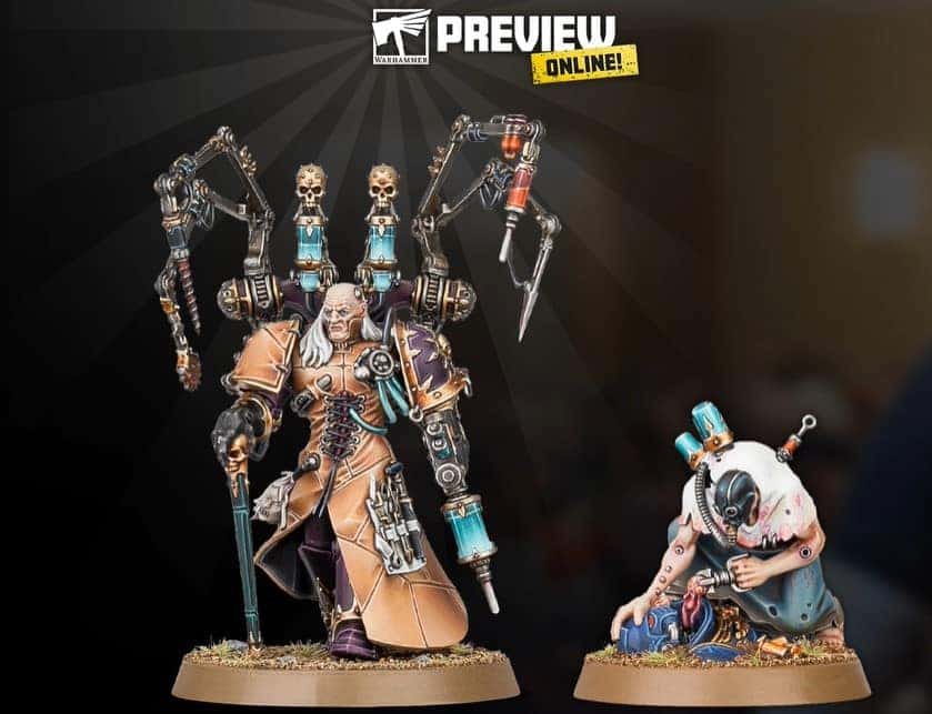 New Fabius Bile Model & War of the Spider REVEALED - Spikey Bits
