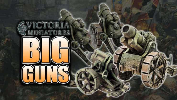 Alternatives to GW & Forge World: Victoria Miniatures Mortars