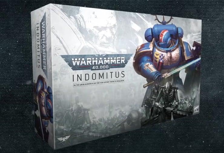 Limited 9th Edition Games Workshop Warhammer 40,000: Indomitus English