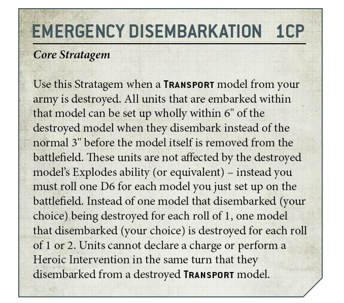 Tips for disembarking Wyches 517cfd07-9th-edition-stratagem-emergency-disembarkation