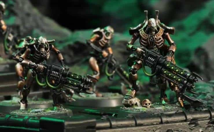Warhammer 40K Necron Warriors Scarabs 13 models 9TH Edition Necron Indomitus