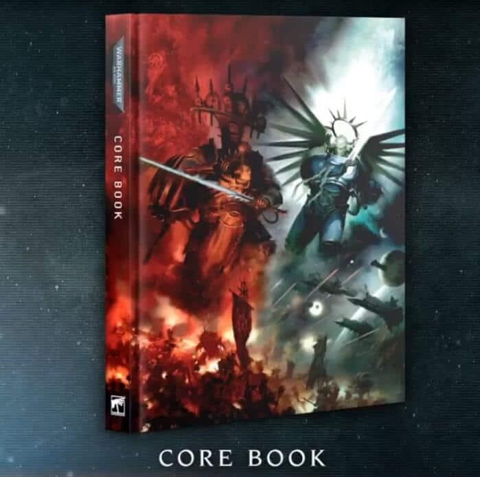 Warhammer 40,000 9th Edition Core Rulebook NIB