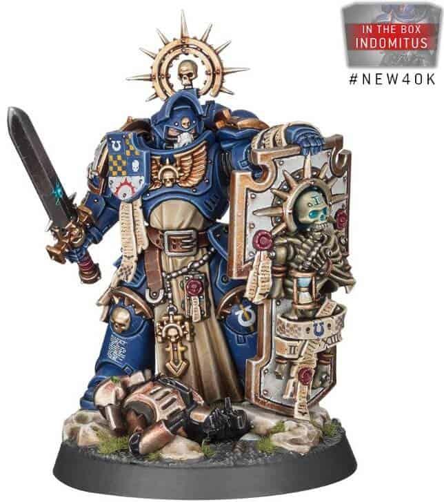 Indomitus New on Sprue Stock Warhammer 40K Primaris Bladeguard Ancient