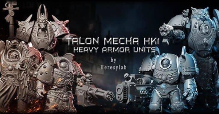 Heresy Lab HK1 Heavy Armor Feature