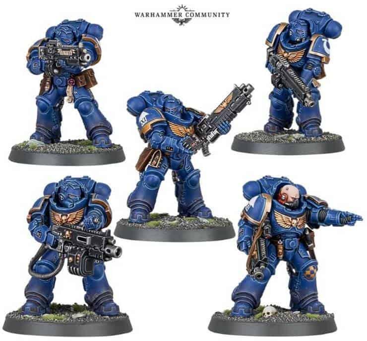 hand flamer space marines Salamanders Character upgrades Thunder hammer