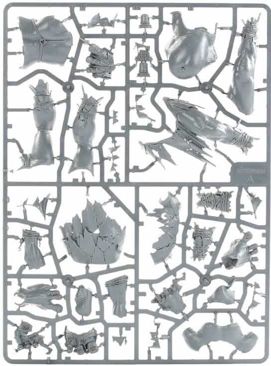 Zombie Death Sprues Warhammer Aos No Bases