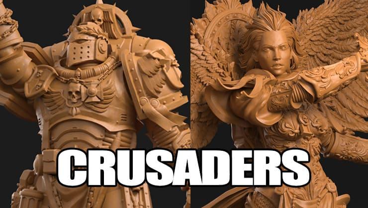 3dartguy crusaders