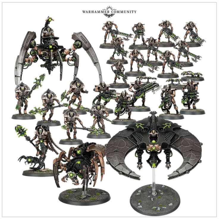 Necron Christmas Battleforce