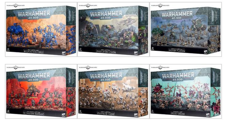 Chrismas Battleforces 2020 warhammer 40k