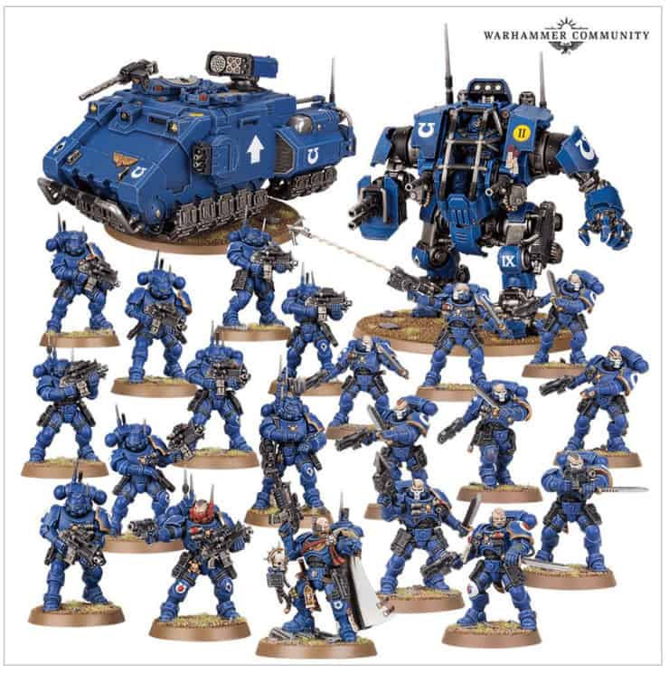 Space Marine Christmas Battleforce