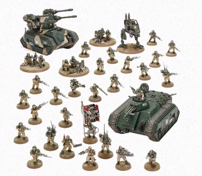 astra militarum battleforce