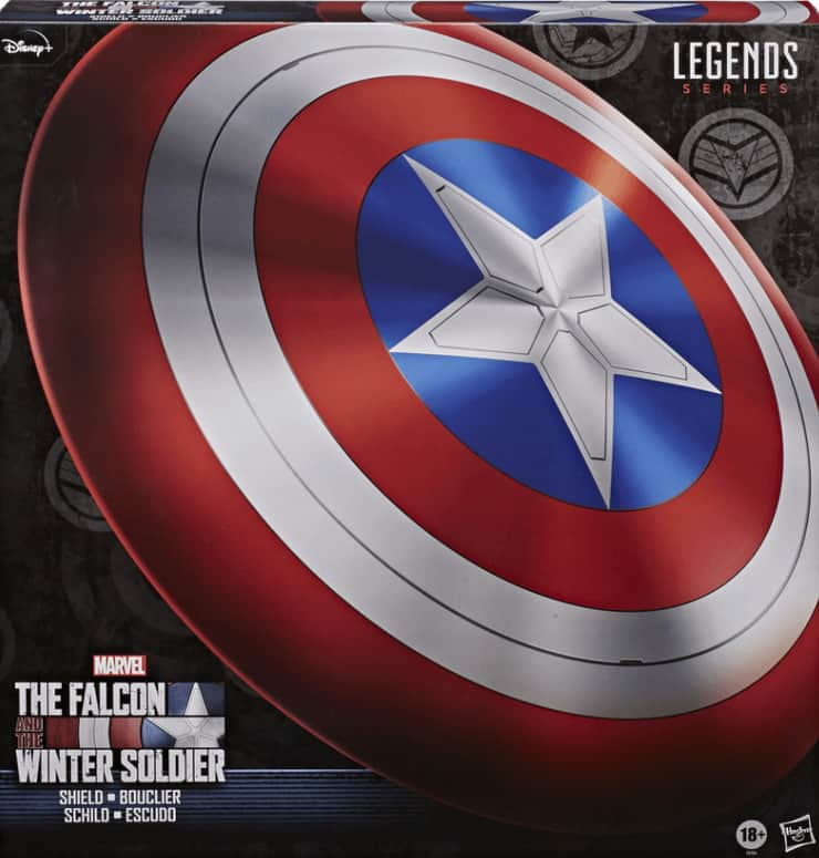 Captain America Shield Dice Bag