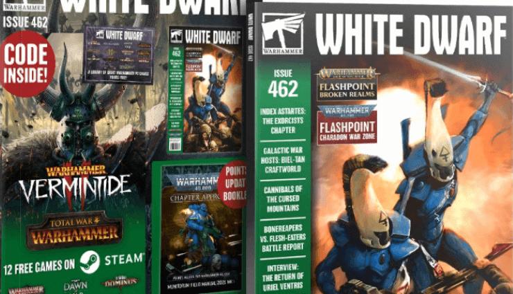 White Dwarf Magazine June 2017 Games Workshop