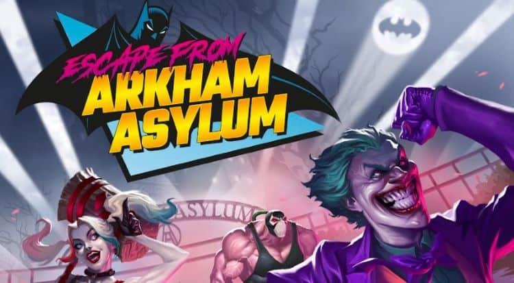 escape from Arkham Asylum r