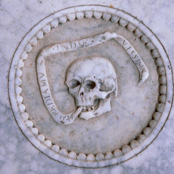 A memento mori reminder of death