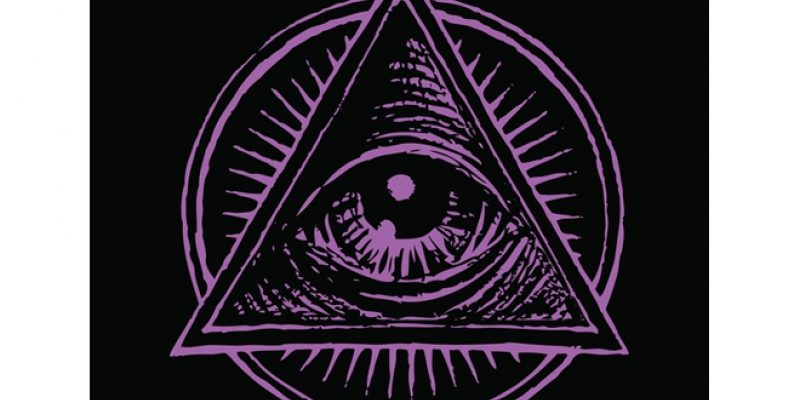 Illustration of all seeing eye