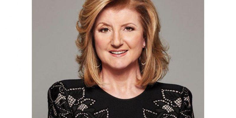Headshot of Arianna Huffington