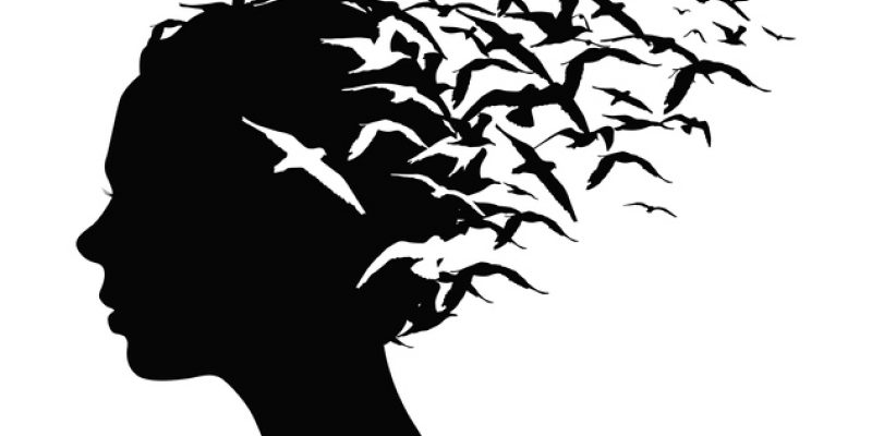 Image of birds flying away representing releasing pain.