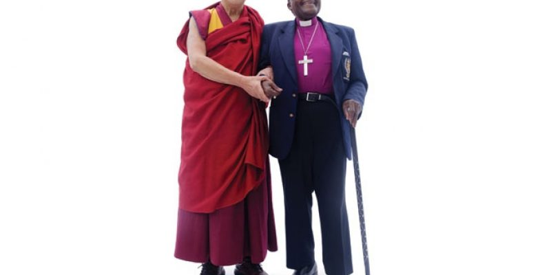Dalai Lama and Desmond Tutu together