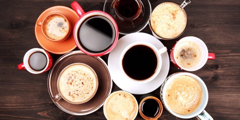 Many cups of coffee