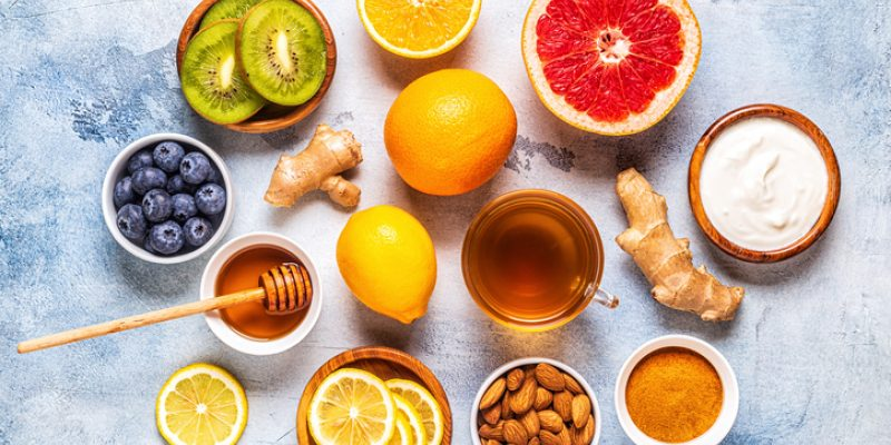 Foods that increase ojas and boost the immune system