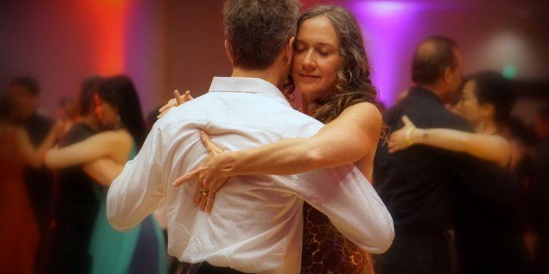 Author dancing